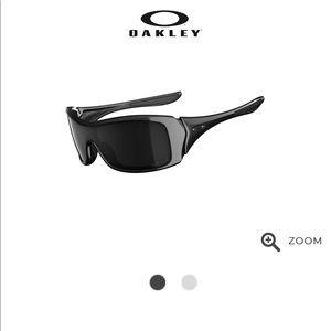 Oakley Polarized Black Glasses